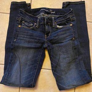 Skinny jeans, stretch